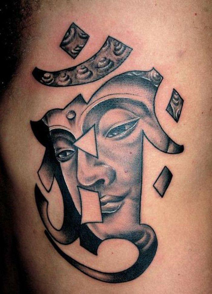 tatouage symbole bouddhiste empreint de sagesse tattoo. Black Bedroom Furniture Sets. Home Design Ideas