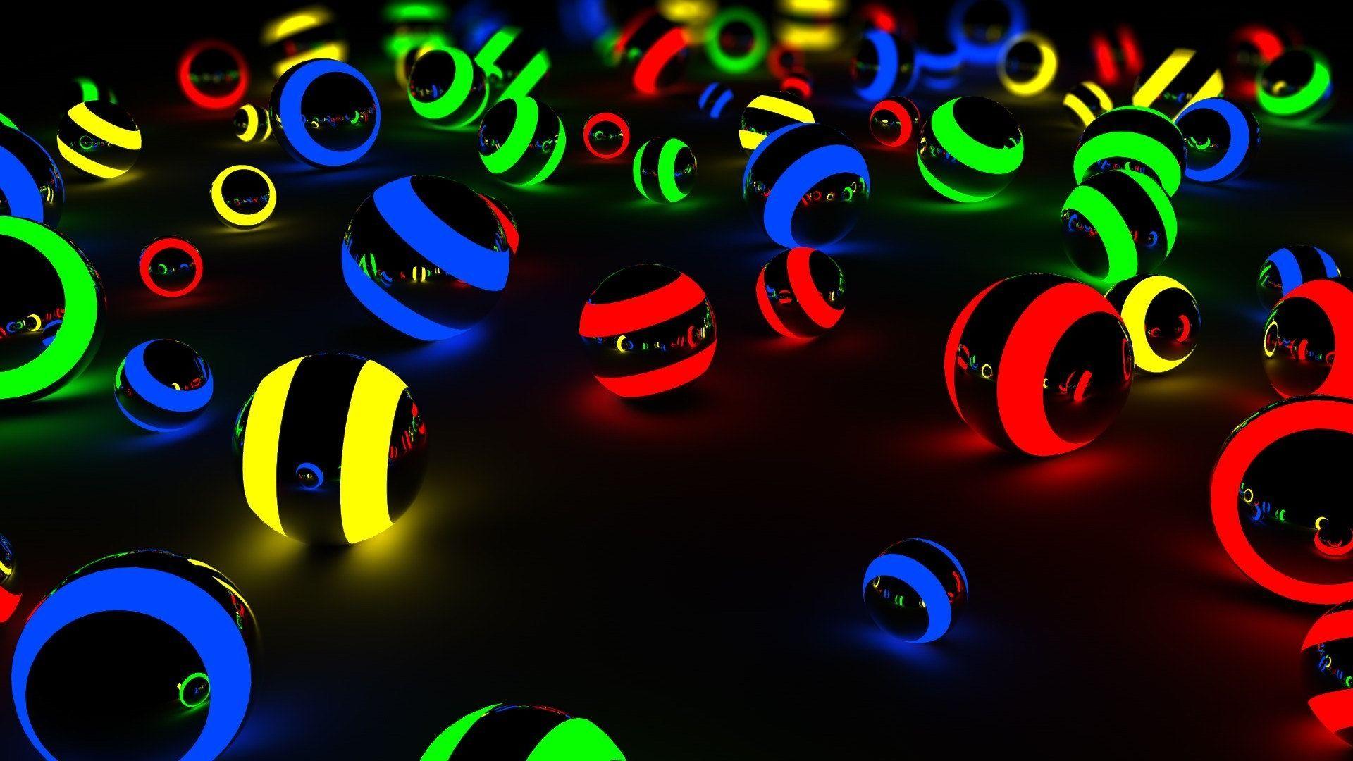 1479148058 836 Balls Hd Wallpapers Jpg 1920 1080 Neon Wallpaper Abstract Wallpaper Neon Backgrounds