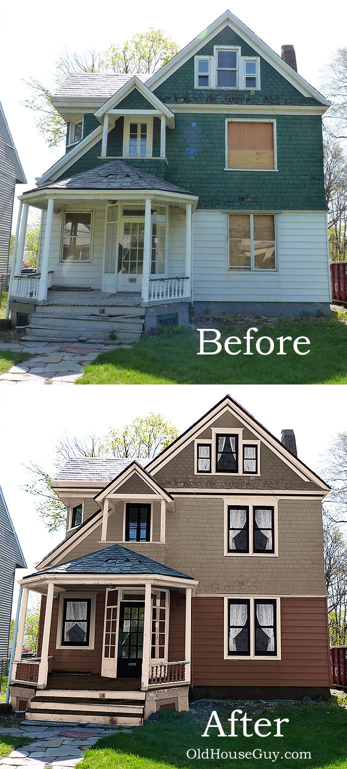 Historic Paint Colors Make A Difference Color Placement Is Mistake Homeowners This House Has Clapboard Shingles And Decorative