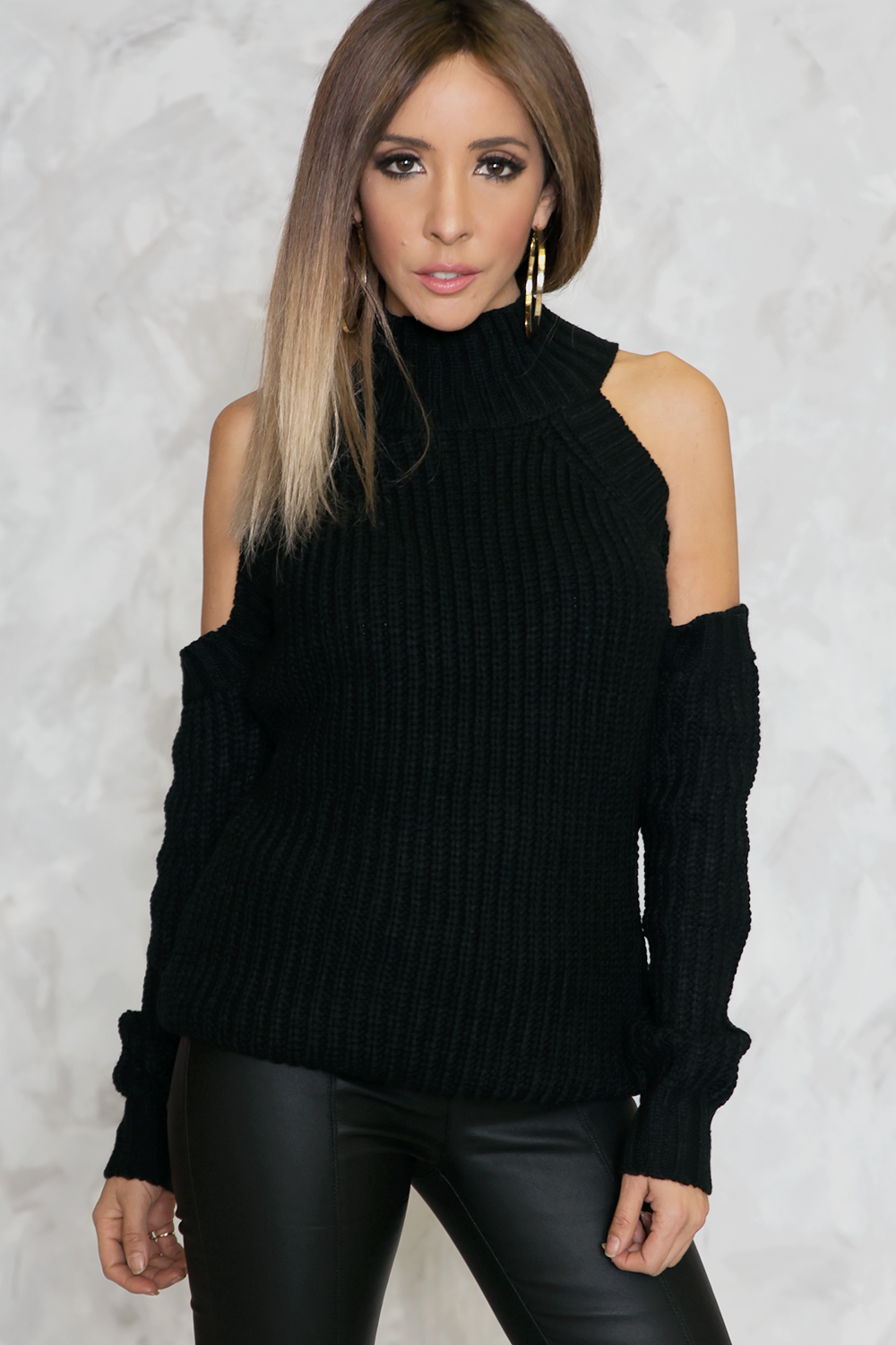 Jagged Edges Cutout Sweater – Haute & Rebellious