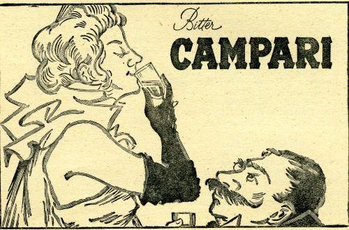 anni '30 Bitter Campari   #TuscanyAgriturismoGiratola