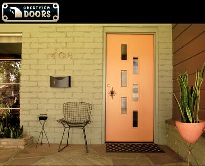 Mid Century Modern Interior Door Knobs crestview doors- mid century modern home restoration | for the