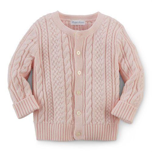 956ebf2d3e Ralph Lauren Aran-Knit Cotton Cardigan | Vaikams | Cotton cardigan ...