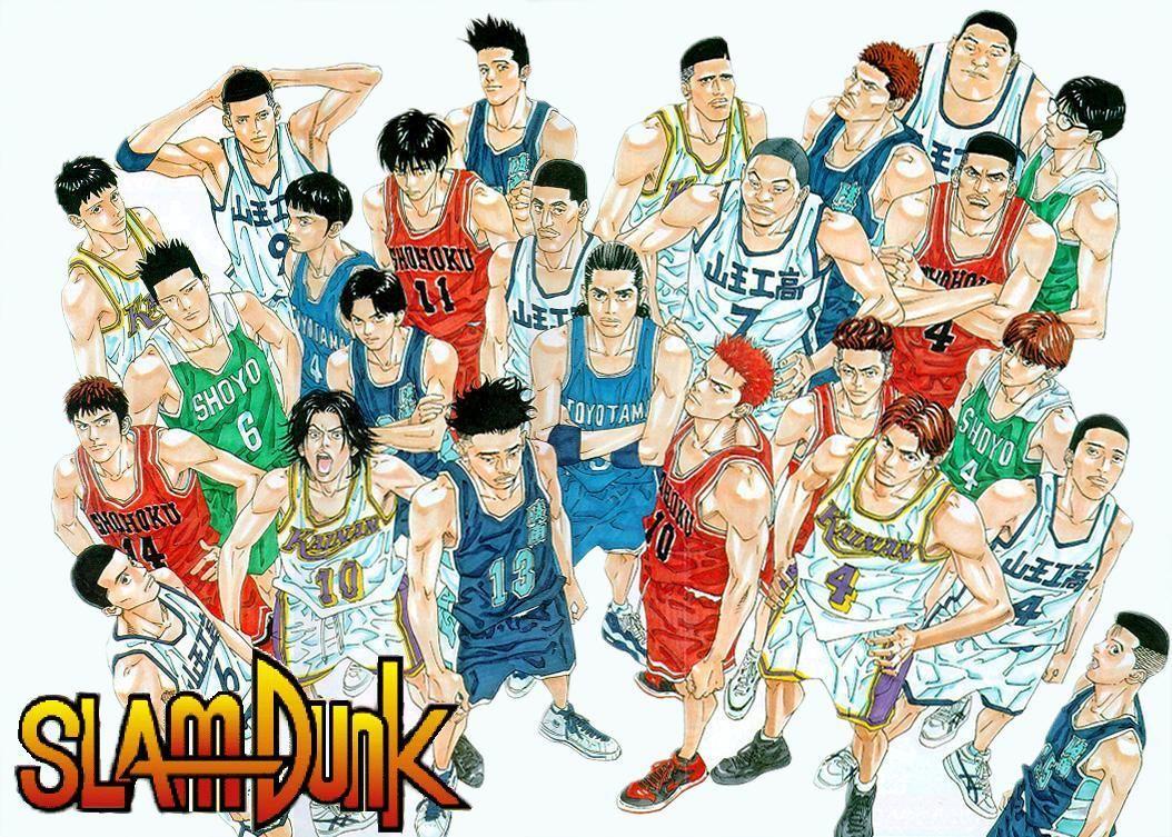 Slam Dunk Full Players. Slam Dunk Pinterest The o