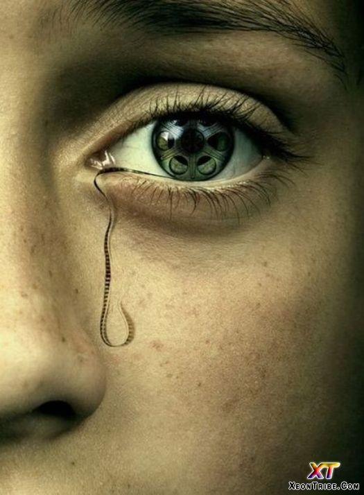 Wonderful Eye Makeup Tutorials You Need To Copy: Wonderful Conceptual Photography (1)