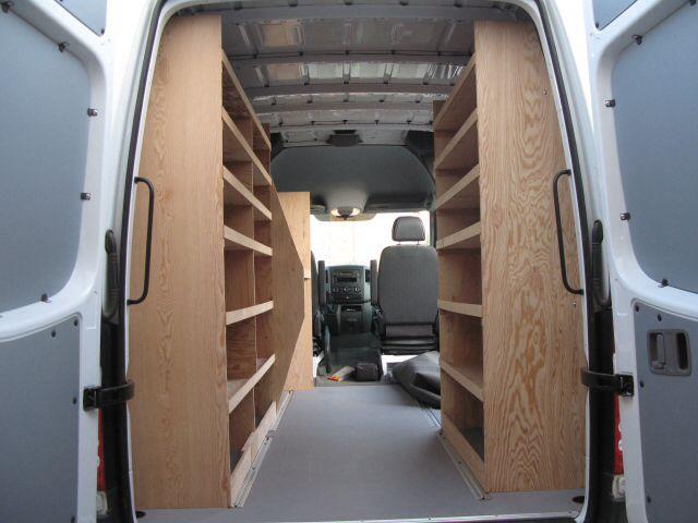 sprinter shelving ford transit work van ideas pinterest. Black Bedroom Furniture Sets. Home Design Ideas