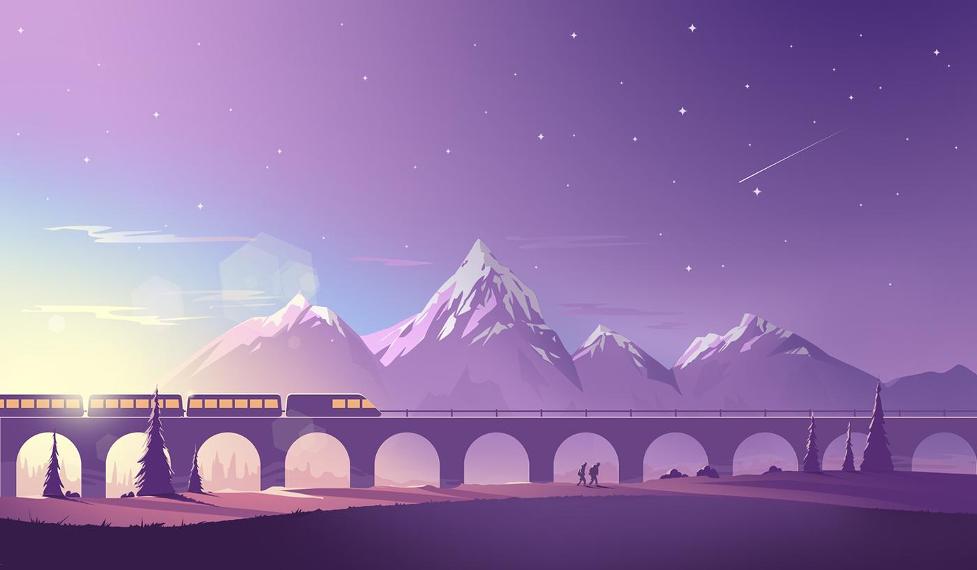Various_Illustrations on Behance