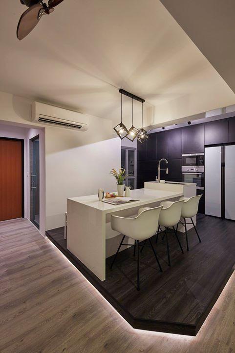 BTO kitchen singapore interior design   Tuscan kitchen ...