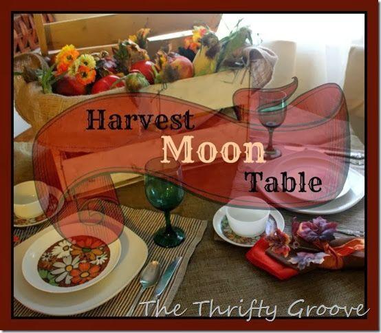 Harvest Moon Table