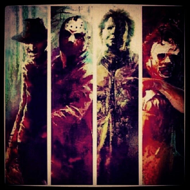 .Freddy Krueger. Jason Voorhees. Michael Myers. LeatherFace.