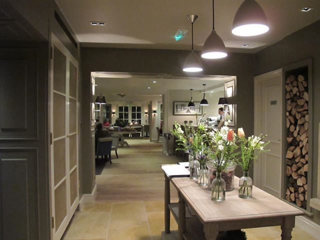 The Conservatory Restaurant At Calcot Manor