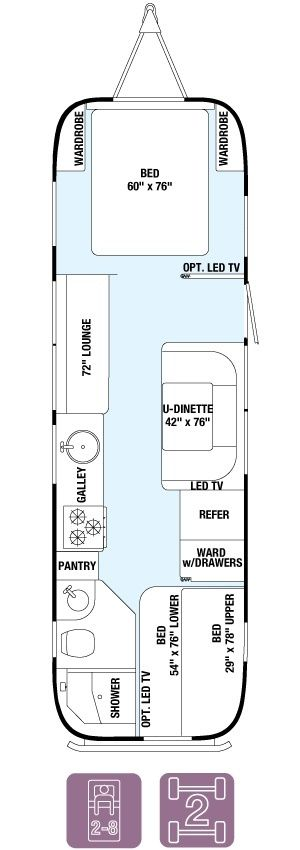 Floorplans | airstream dreams | Airstream interior, Airstream