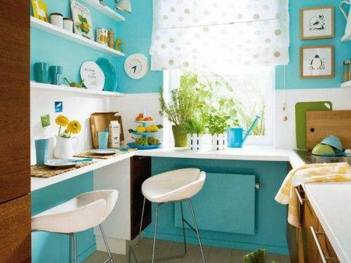 25 schicke Design Ideen für kleine Küche - pragmatische Vorschläge - kleine kchen ideen
