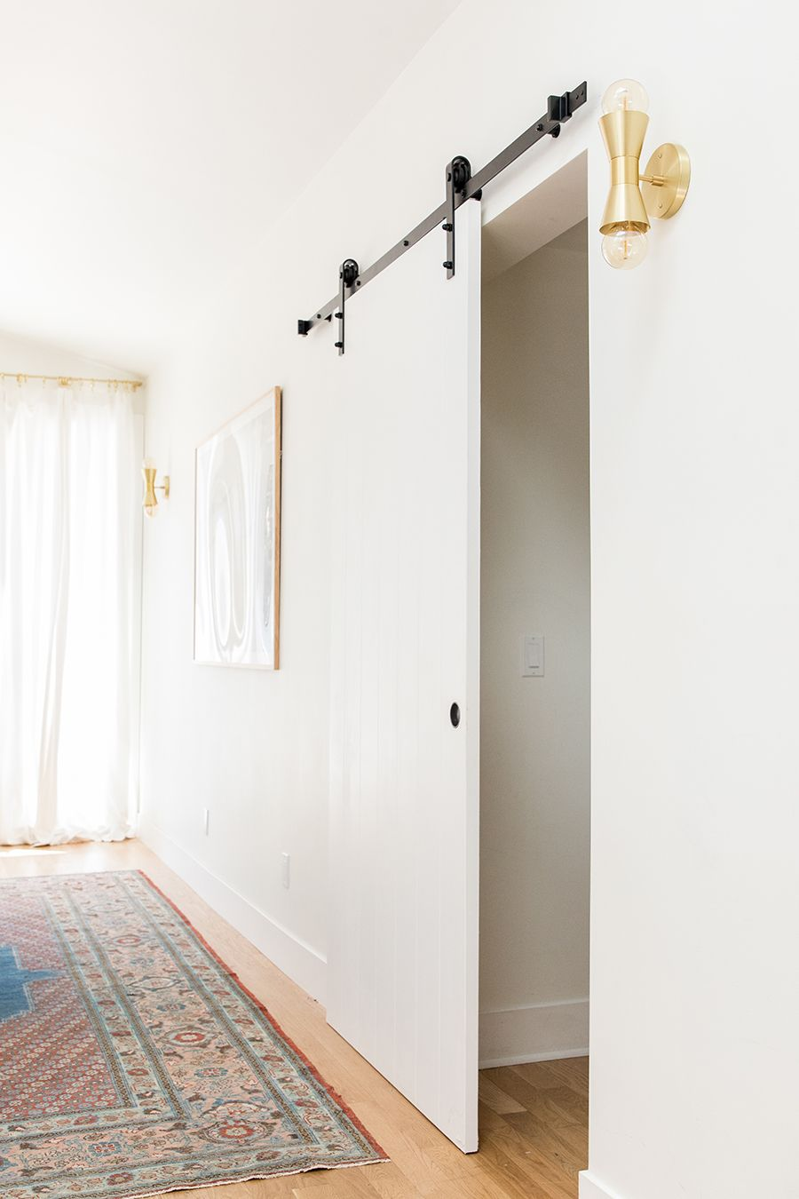 How To Install An Interior Barn Door Home Decor Styles Interior