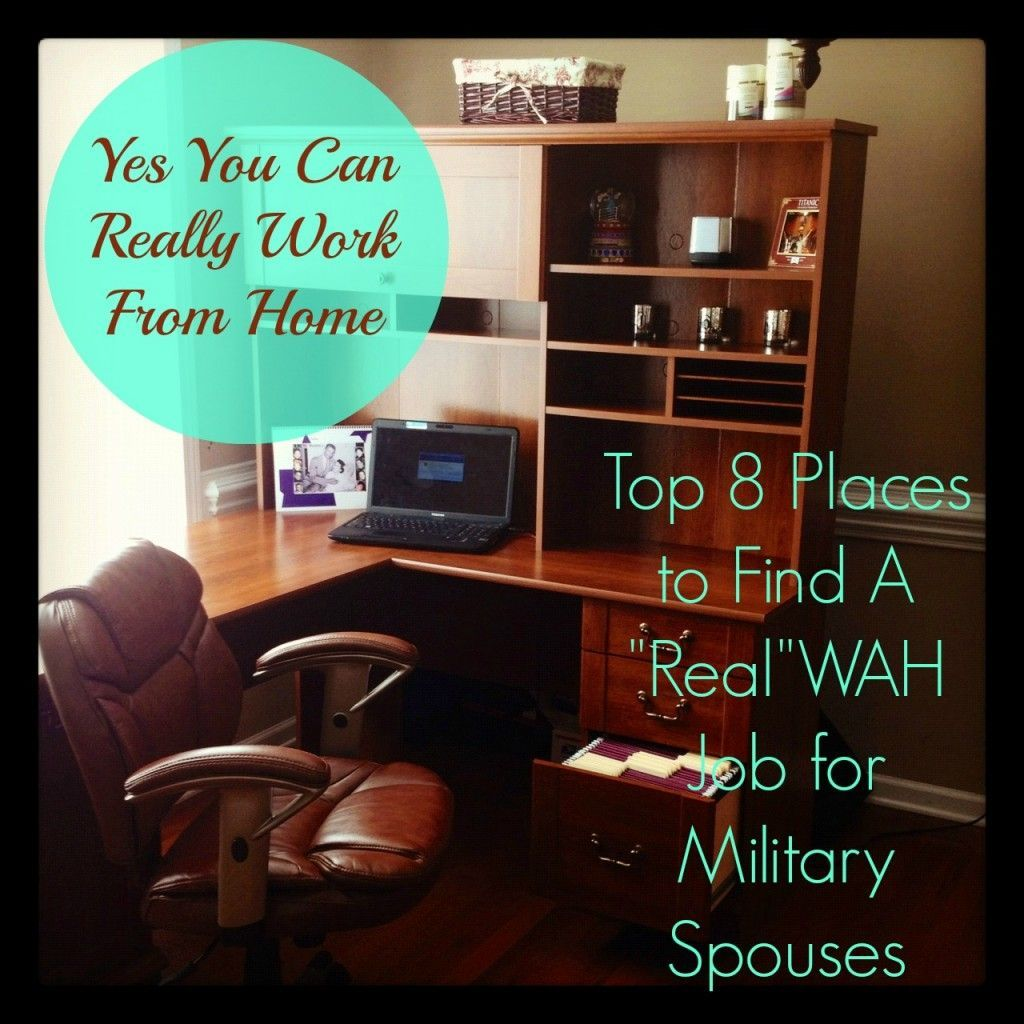 List of places for Military Spouses to find work at home