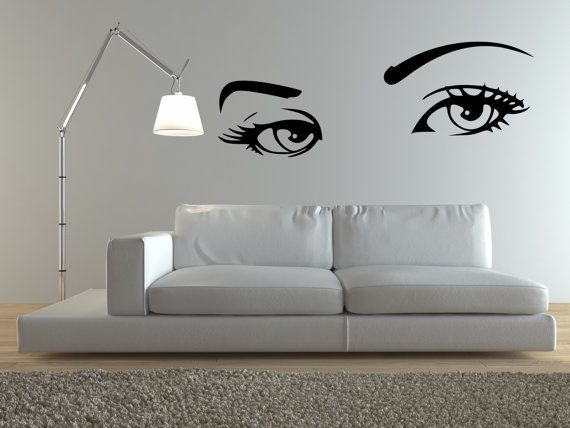 Eyes Wall Art Eyes Wall Decal Sexy Girl Eyes By Respectprinting