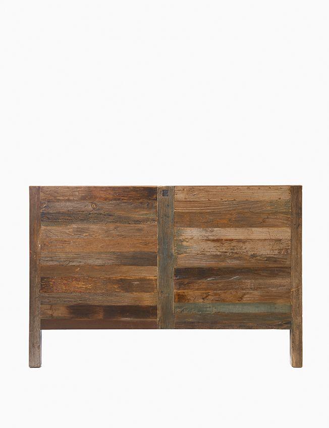 Driftwood Headboard Double.