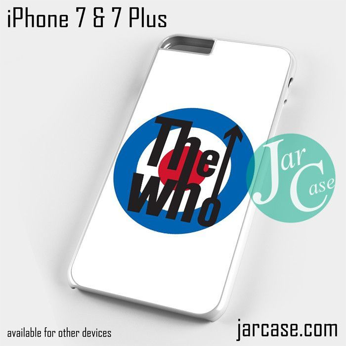 The who logo Phone case for iPhone 7 and 7 Plus
