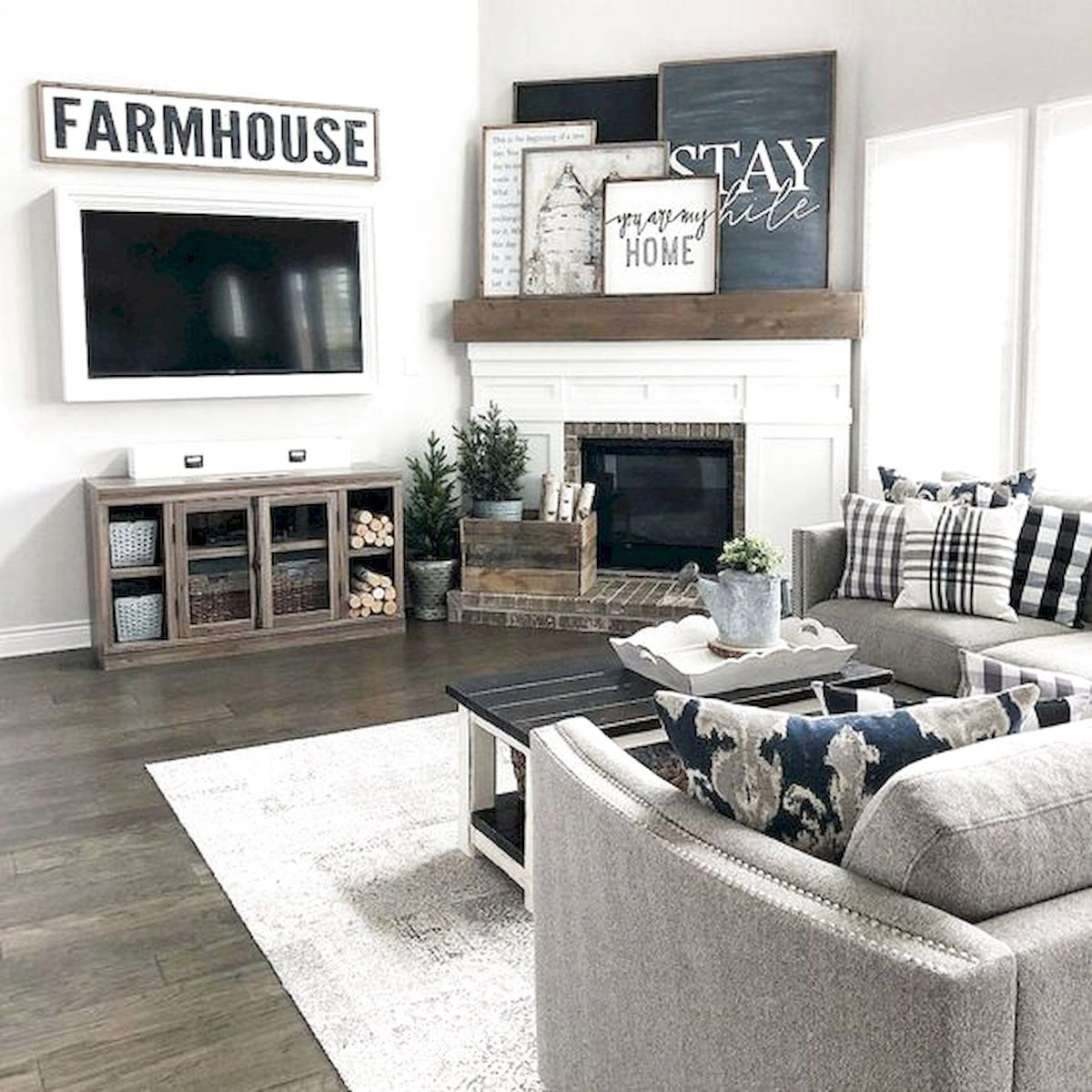 26 Best Modern Living Room Decorating Ideas And Designs: 101 Best Farmhouse Living Room Decoration Ideas (72 In