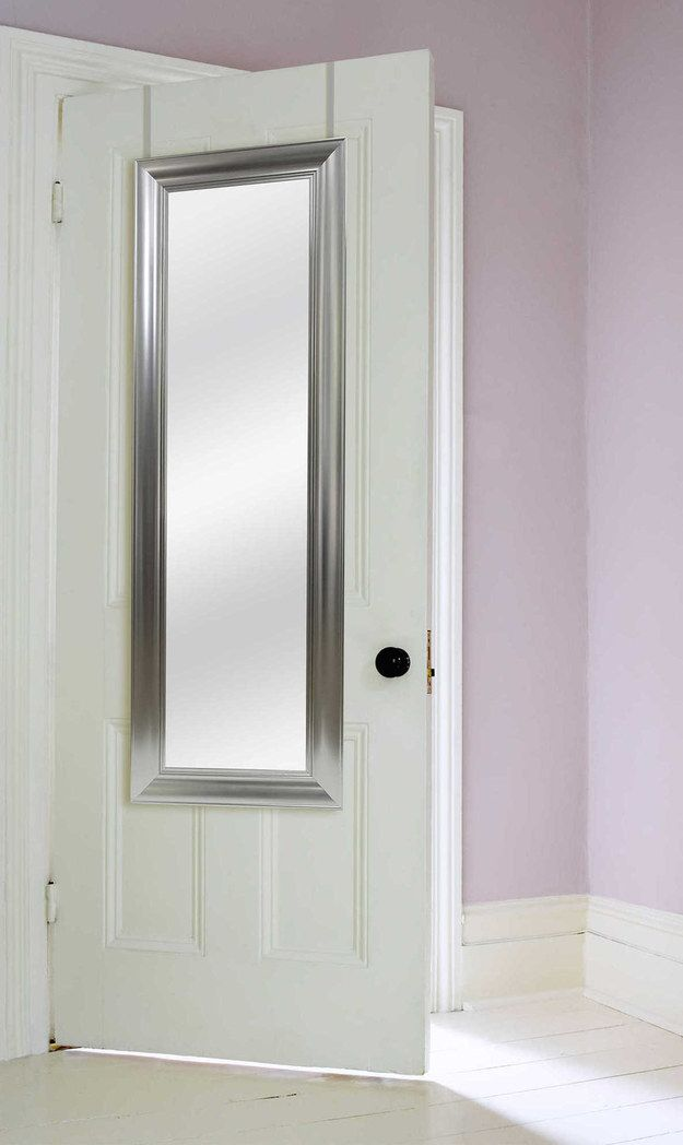 Most Dorm Rooms Donu0027t Come With Full Length Mirrors: Buy One You Can Hang  Over Your Door.