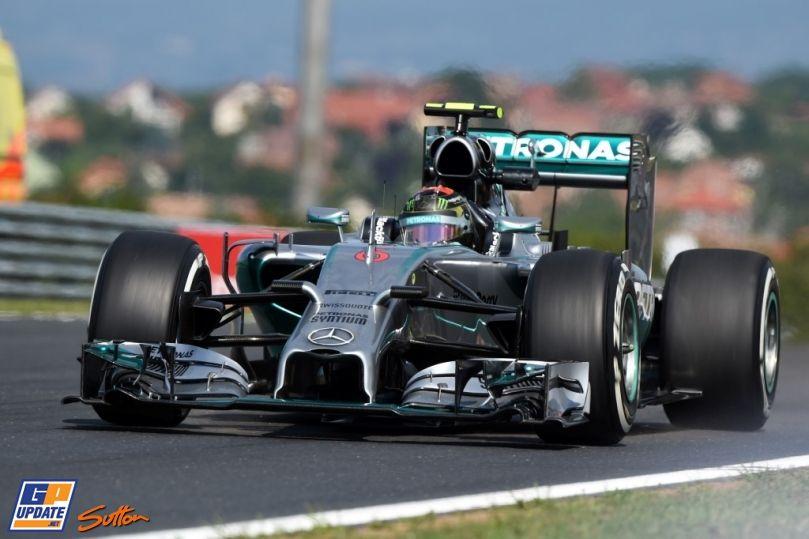 Nico Rosberg, Mercedes Grand Prix, Formule 1 Grand Prix van Hongarije 2014, Formule 1