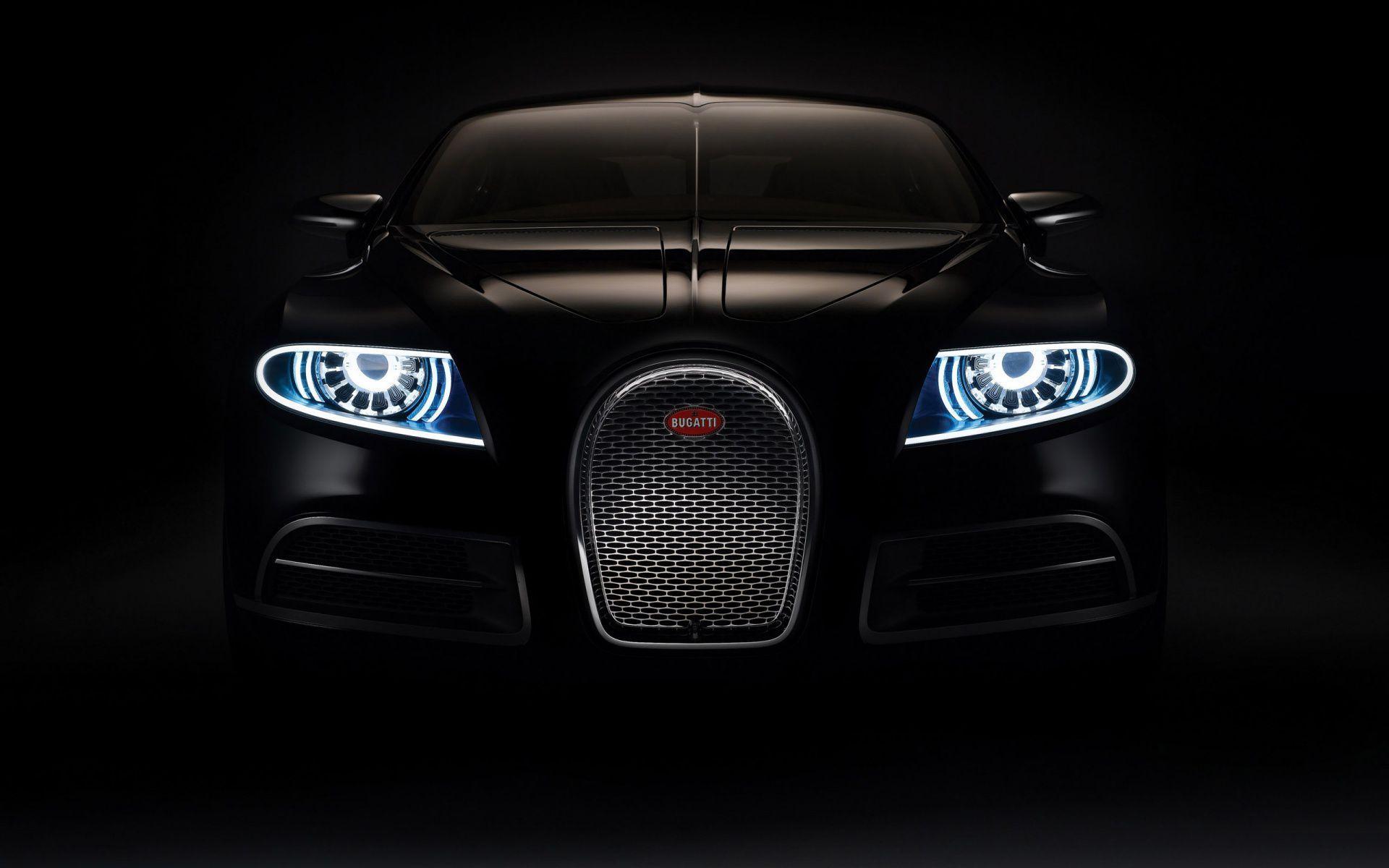 Black Car Front View Hd Wallpaper Bugatti Cars Super Sport Cars
