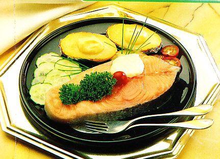salmão assado mais fácil do mundo