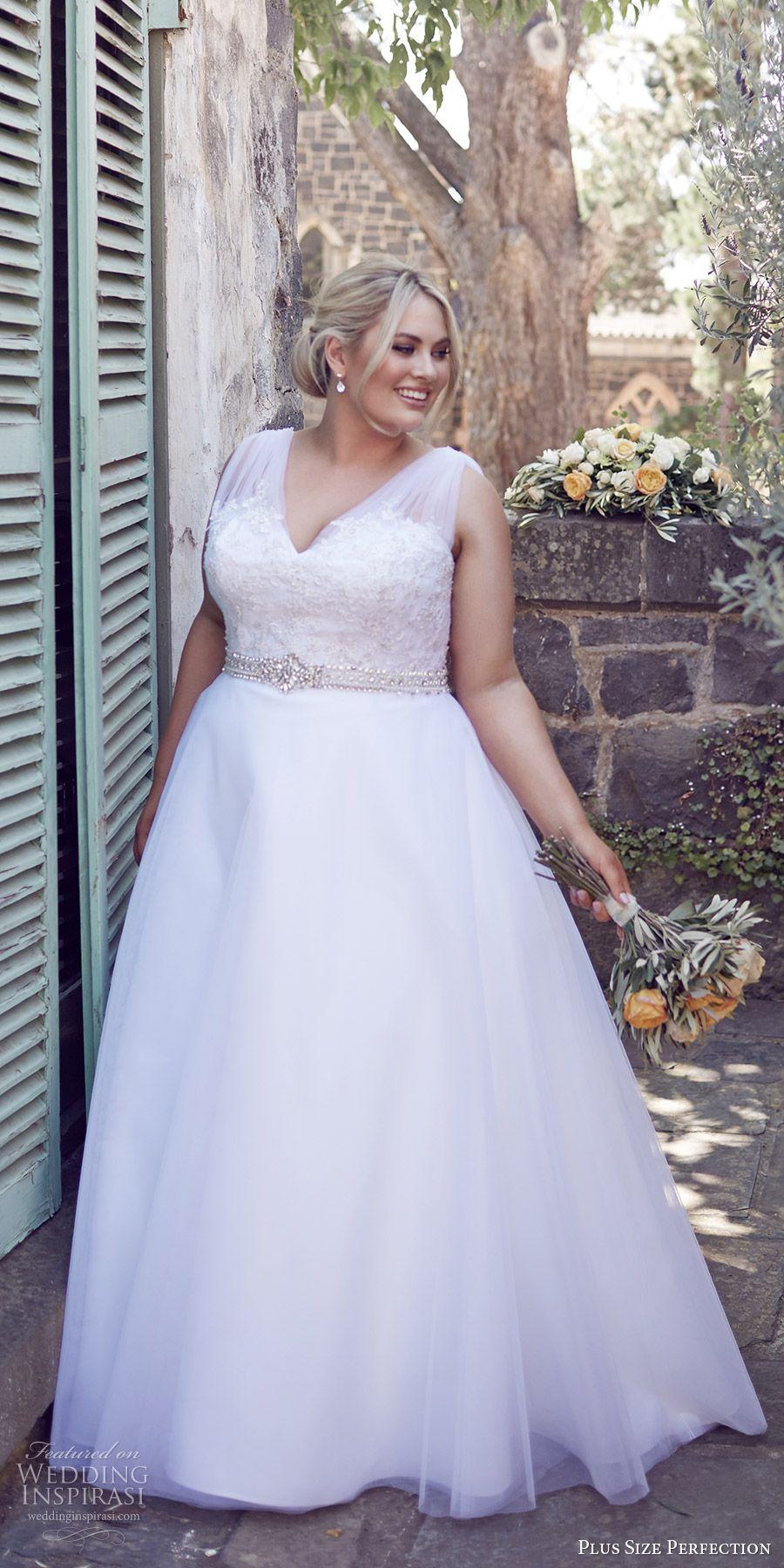 Blue plus size wedding dresses  Plus Size Perfection Wedding Dresses u ucItus A Love Storyud Campaign