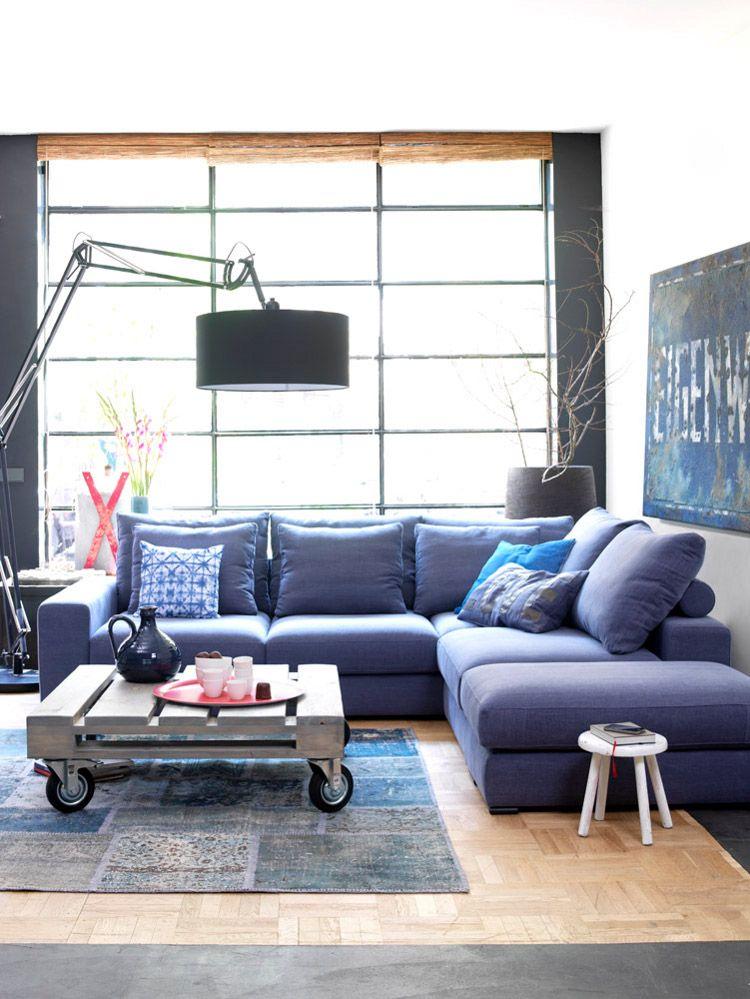 Bank Lounge van Coming is flexibel en eenvoudig te veranderen van ...