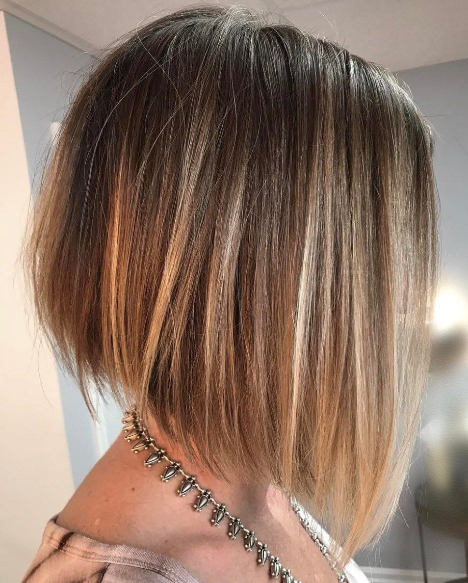 winning looks with bob haircuts for fine hair angled bobs fine