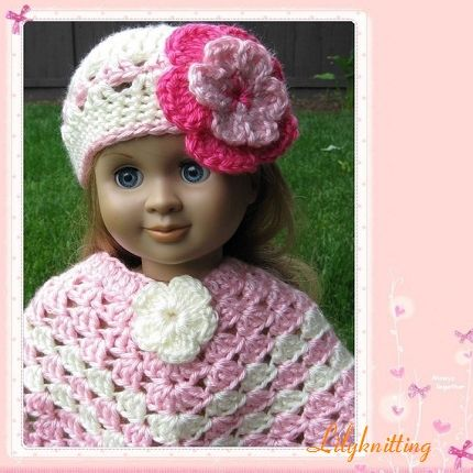 Free Crochet Poncho Patterns For Women Pattern For Crocheted