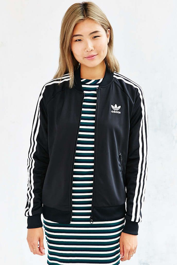 adidas Superstar Track Jacket | outfit | Adidas jacket
