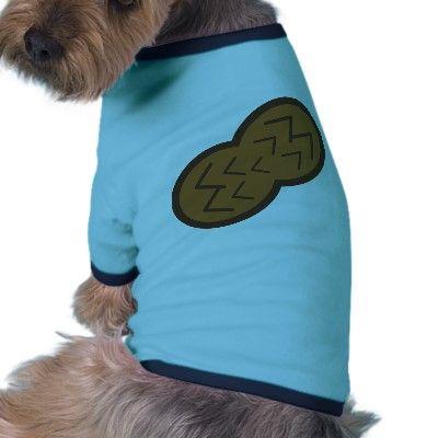 peanut dog t shirt