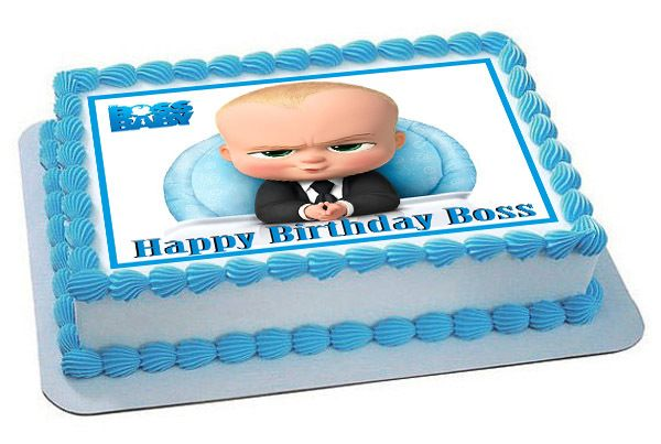 The Boss Baby - Edible Cake Topper OR Cupcake Topper ...