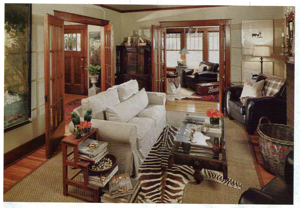 cowhide rug Home, Green dining room, Green rooms