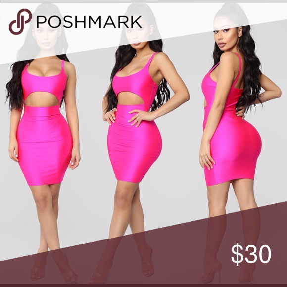b7c83454de421 Cut to the chase mini dress in hot pink Brand new never worn size small mini  dress. So cute on. Will upload more pics of actual product.