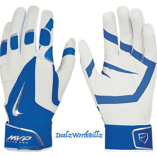 baseball equipment Nike MVP ELITE PRO Leather SOFTBALL batting gloves XL new