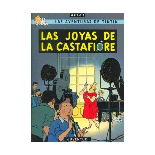 Herge Las Aventuras De Tintin Las Joyas De La Castafiore Editorial Juventud Tintin Las Aventuras De Tintin Juventud