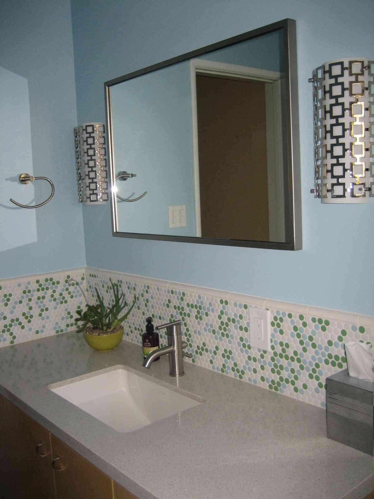 New Post sea glass mosaic tile bathroom | Bathroom_Ideas | Pinterest ...