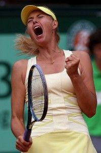 Sharapova Defeats Wozniacki No Hand Shake From The Dane For Umpire Tennis Players Female Maria Sharapova Maria Sarapova