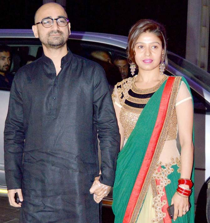 Sunidhi Chauhan and husband Hitesh Sonik | Bollywood, Sunidhi chauhan,  Bollywood celebrities