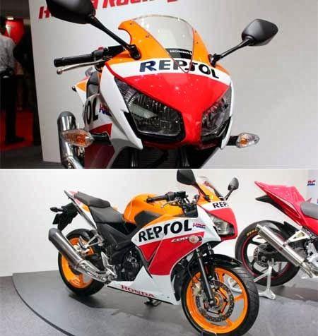 Honda CBR 250R Repsol 2014 Edition