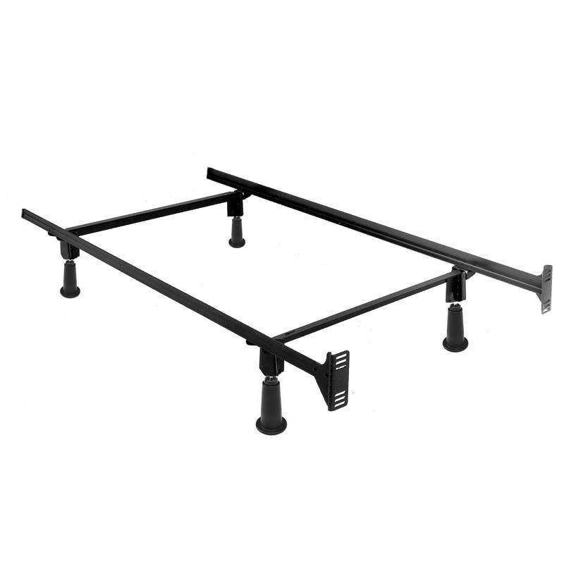 Twin size High Rise Metal Bed Frame with Headboard Brackets