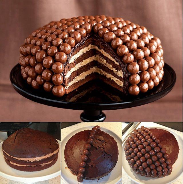 Diy Make Amazing Maltesers Cake Malteser Cake Malteaser Cake