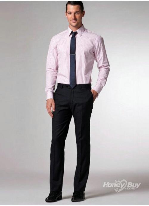 Formal Pink Stripes Design Mens Shirt | Shirt | Pinterest