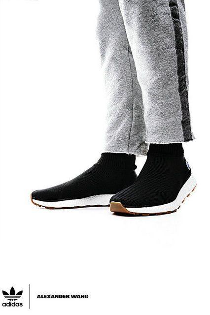 e3723af6d8fb7 Unisex Alexander Wang X Adidas Aw Run Clean New Arrival Black Cm7828 Legit  Cheap Shoe