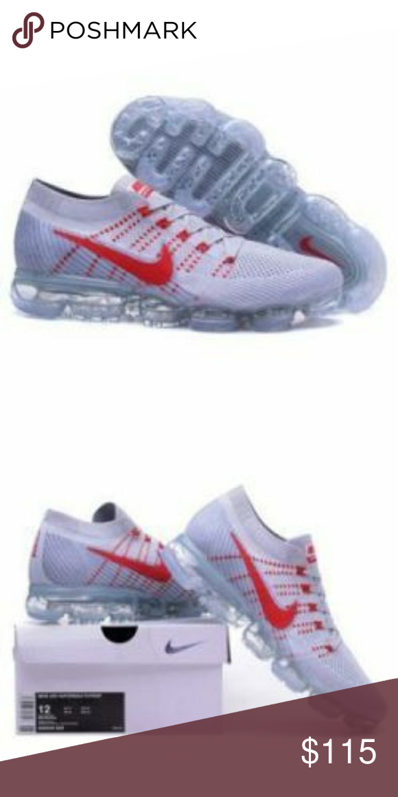 new style e7bec 3a3bd 2018 nike vapormax These are the gray and red vapormax with ...