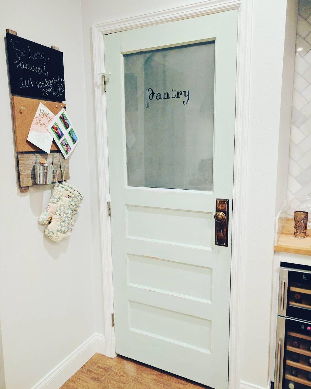 Vintage Pantry Doors