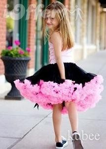 Kid princess dress girl tutu ball skirt petticoat dress