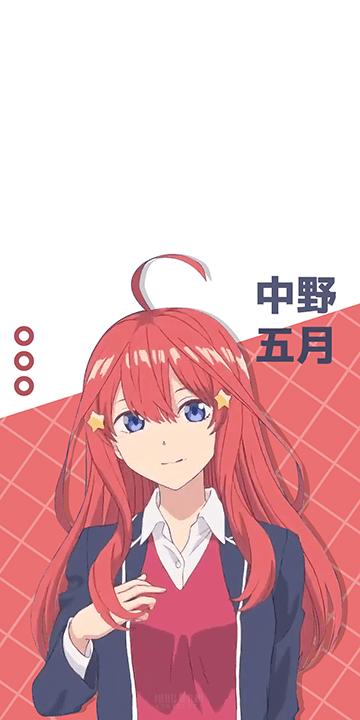 Nakano Itsuki - Gotoubun no Hanayome Wallpaper